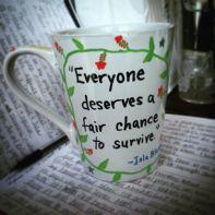 Deathless mug // www.SarahPerlmutter.com